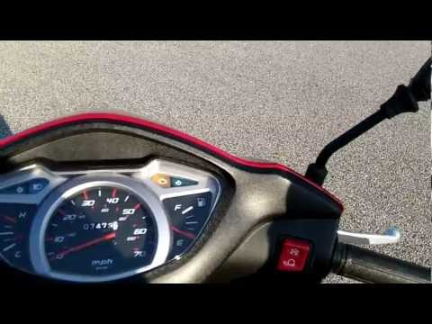 Honda Elite nhx110 Review and Ride (lead 110 scooter) top speed