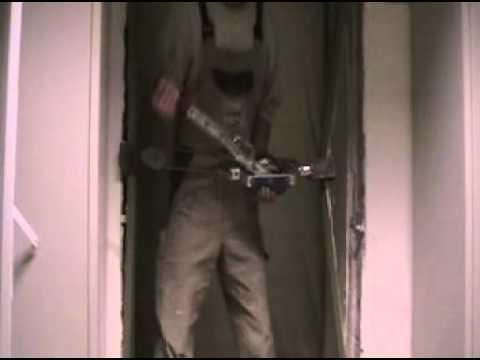 Stahleckzarge  Stahlzarge Stahleckzarge ausbauen - YouTube