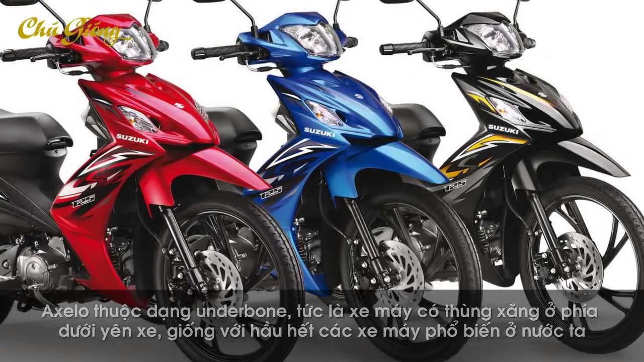 Giới thiệu về xe Suzuki Axelo