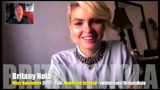 Comfortable with nudity, Britany Nola shows all in Playboy, American Ecstasy! (Interview)