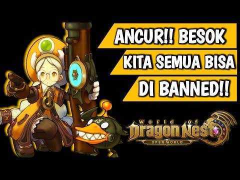 Harus Liat! Gapake BUG X Cheat Kalian Juga Bisa Ke Banned!!   World Of Dragon Nest Mobile Nexon WODN