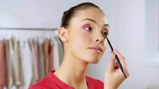 Видео урок: Очен Ombré грим в розово и матови устни