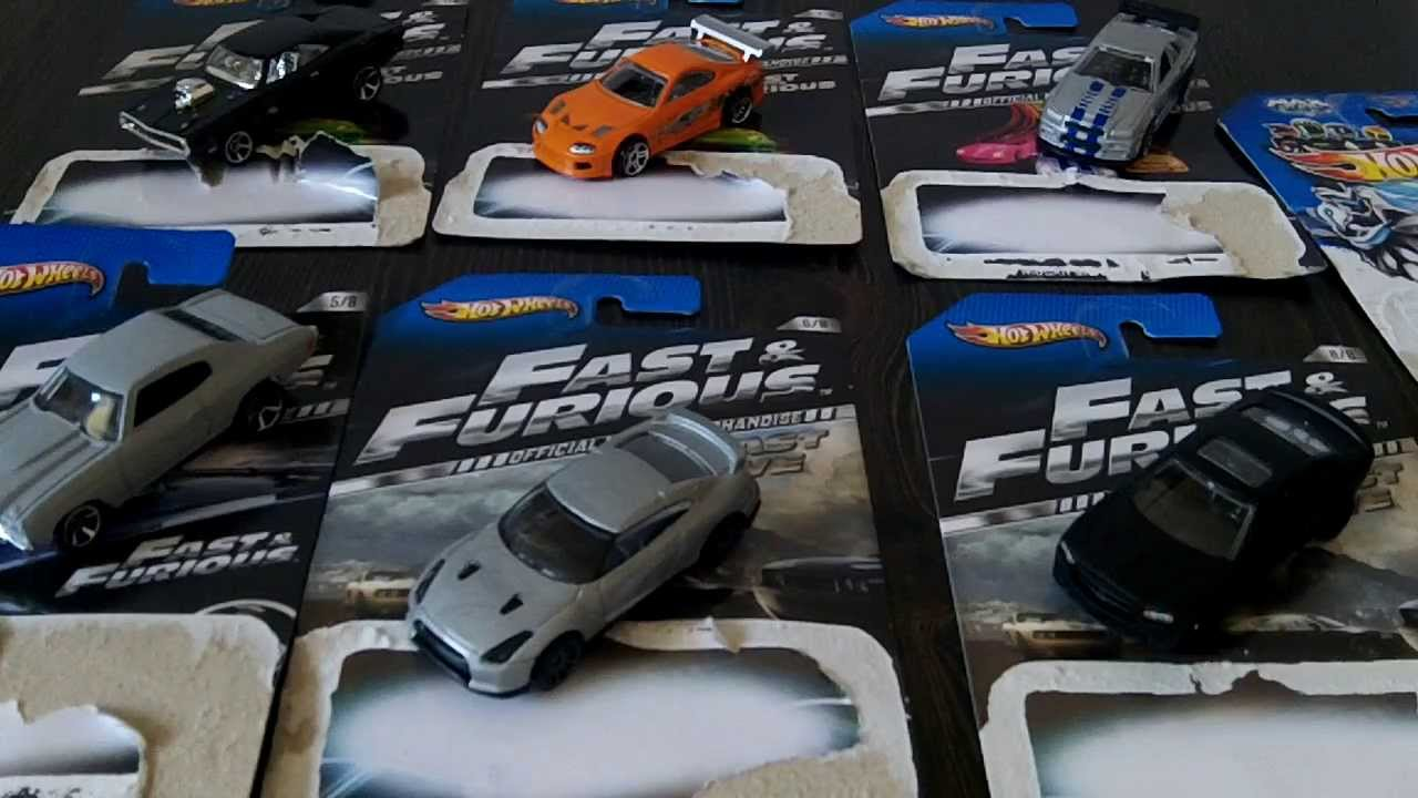 hot wheels the fast and the furious series set youtube. Black Bedroom Furniture Sets. Home Design Ideas