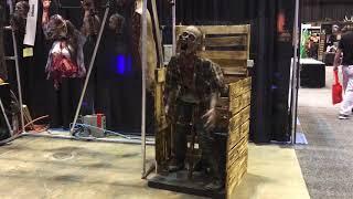 Impaled Zombie Animatronic