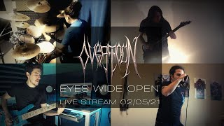 "OVERTOUN - Eyes Wide Open (""Centuries of Darkness"" - LIVE 2021)"