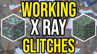 3 Working X Ray Glitches | Minecraft  PS4/Xbox/PE/Bedrock