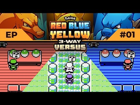 LET'S DEW THIS! | Pokemon Red / Blue / Yellow #3WayVersus EP01
