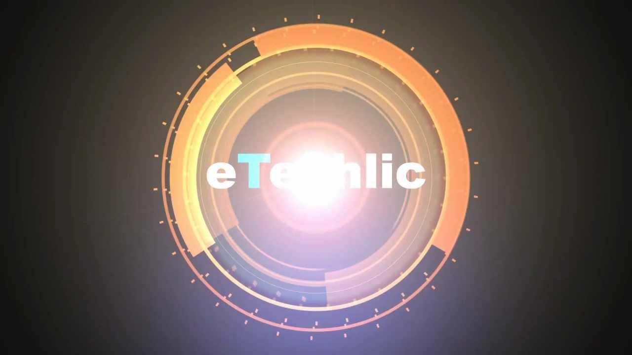 Download eTechlic animated logo