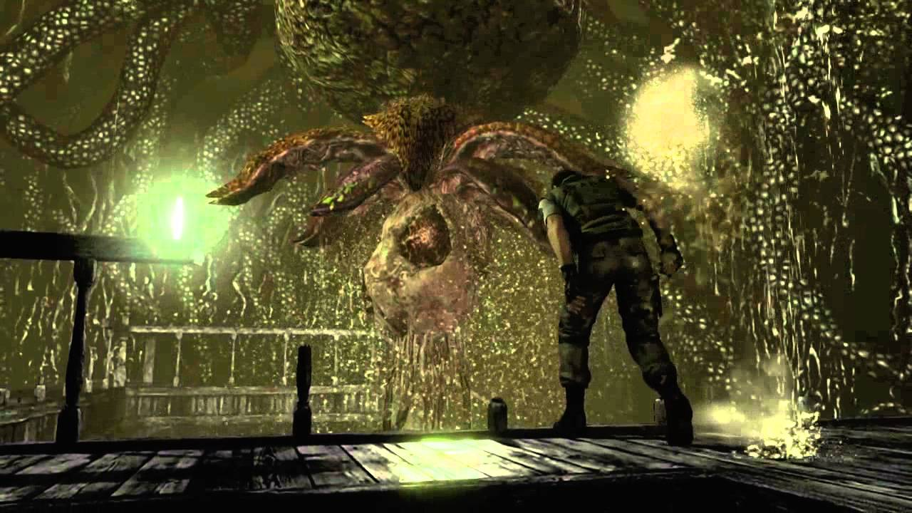 Resident evil hd plant 42 boss fight knife only for Plante 42 resident evil