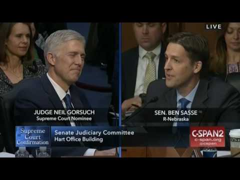 Ben Sasse: What a Judge
