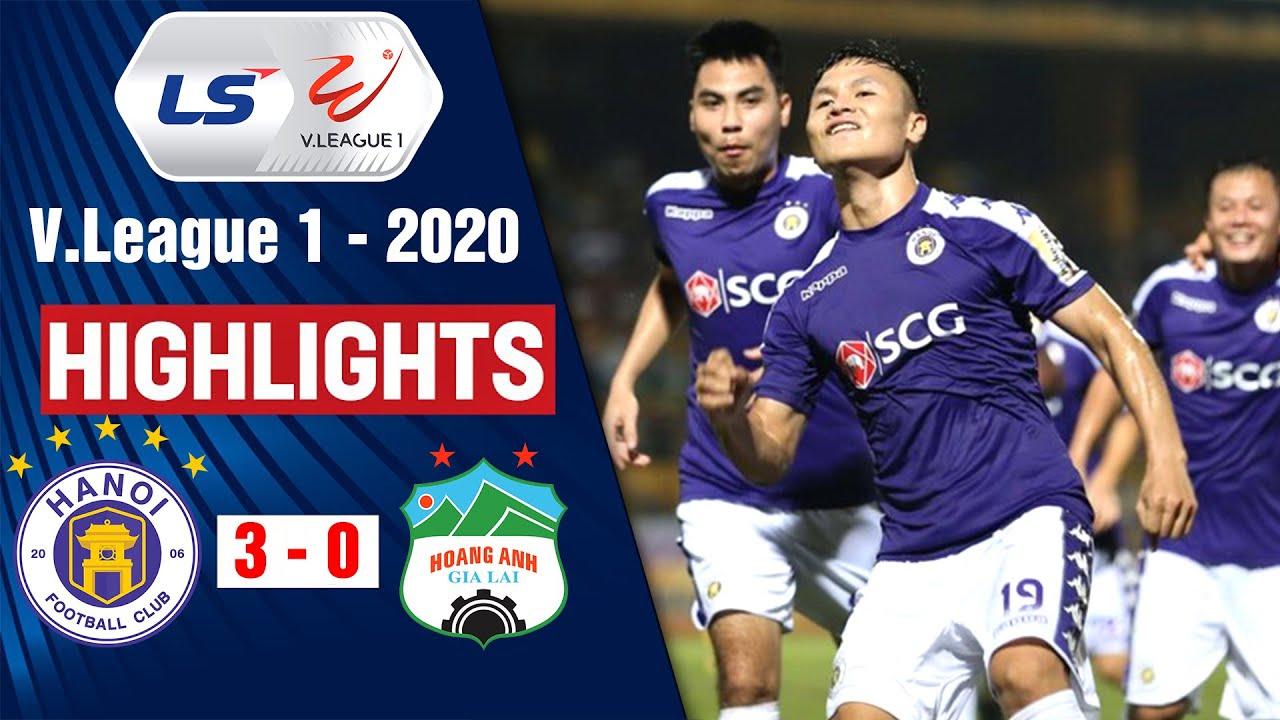 Hà Nội vs Hoàng Anh Gia Lai: 3-0 | Highlights V.League 2020 | On Sports