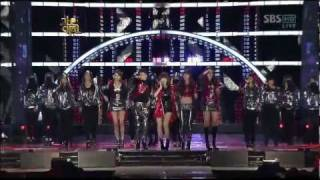 4Minute - Hollaback Girl + Muzik + Hot Issue Gayo Daejun 2009
