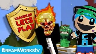 Smash Heroes in Minecraft with Chad Alan | LEAGUE OF LET'S PLAY