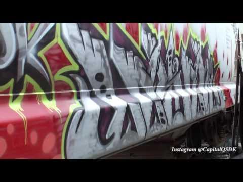 Graffiti - BIG MILES, LESEN, Q - JULY 2016 - Stompdown Killaz #SDK