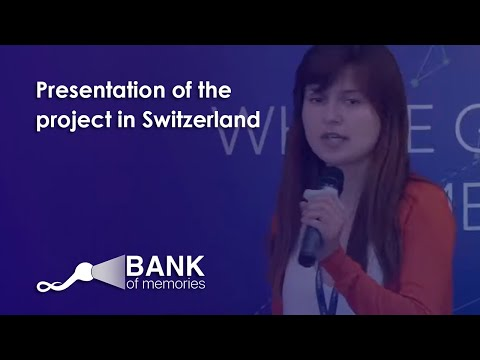 Bank of Memories and UniExo, CV Labs,  Crypto Valley in Switzerland.