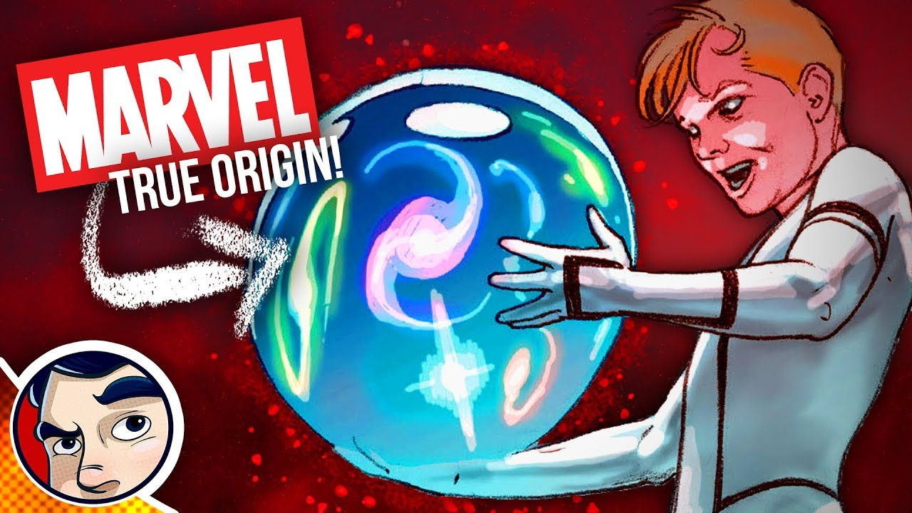 origin of the marvel universe franklin richards comic theory