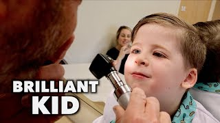 Brilliant 4 Year Old With SENSORY PROCESSING ISSUES (So Cute) | Dr. Paul