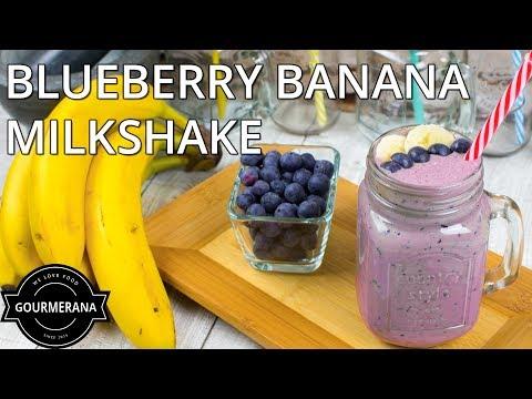 How To Make Blueberry Banana Milkshake Stop Motion Animation Recipe