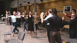 Как проходит проходит урок Аргентинского танго