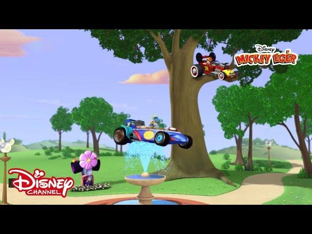 Mickey és az autóversenyzők: Mickey kereke!