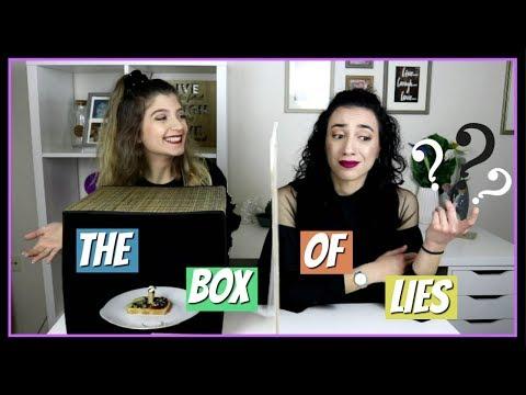 Ποια από τις 2 είπε ψέματα?  The Box Of Lies    fraoules22