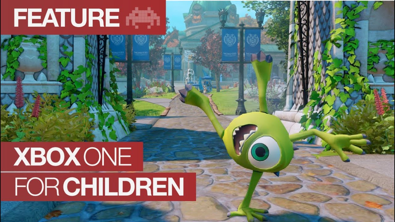 Xbox One Games For Children | Xbox One Kids Games - YouTube