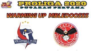 PROLIGA 2020 warming up | SAMATOR & JAKATA GARUDA