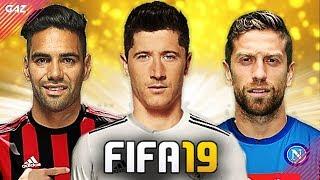 LEWANDOWSKI TRA JUVE E REAL!!! TOP 10 TRASFERIMENTI ASSURDI IN FIFA 19! [Suso, Papu Gomez, Falcao]