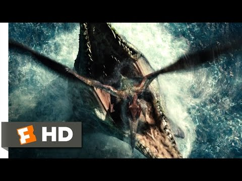 Jurassic World (4/10) Movie CLIP - Pterosaur Attack (2015) HD