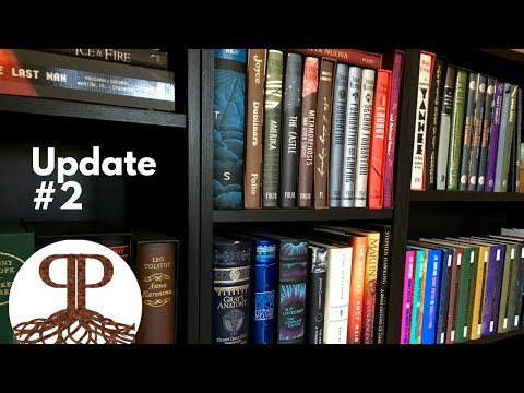 Bookshelf Tour – Update #2 | Folio Society, Tolkien Collection & Limited Editions