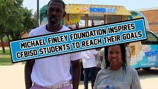 Michael Finley Foundation Inspires CFBISD Students to Reach Their Goals
