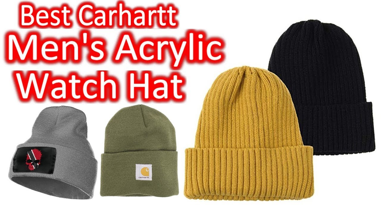 25f64348993d75 Best Carhartt Men's Acrylic Watch Hat 2019 - YouTube