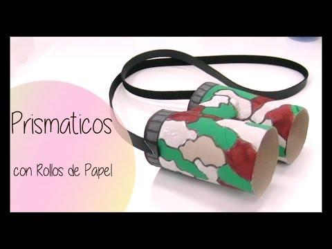 Manualidades prismaticos con rollos de papel higienico - Youtube manualidades de papel ...