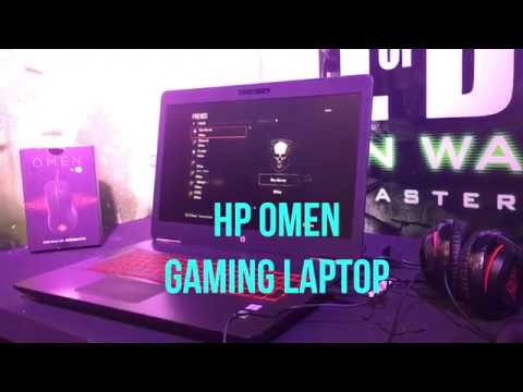 HP Omen Gaming Laptop First Look Video