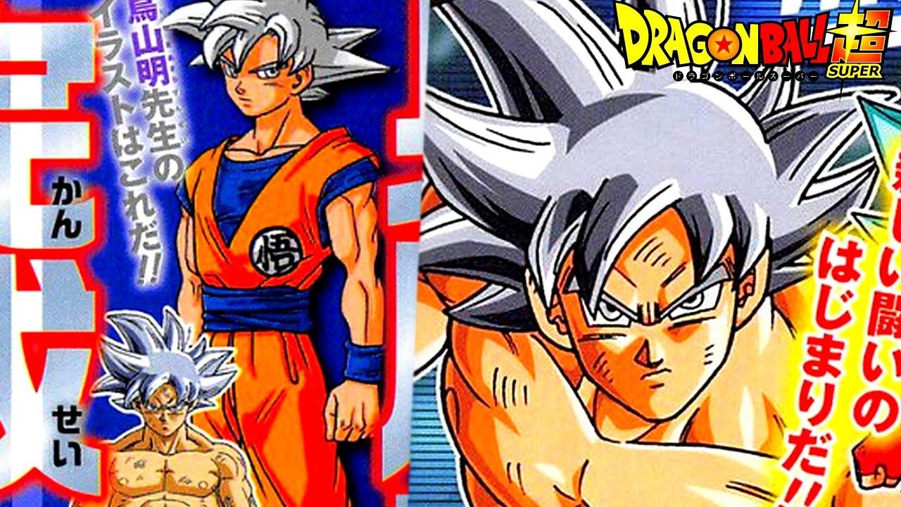 Goku cheveux gris