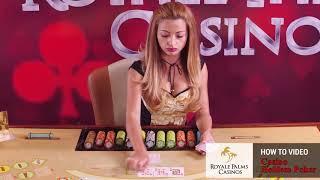 Заснемане на видео урок Casino Holdem Poker