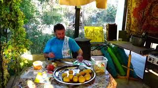 Лимон, мед, соль...Приправа для мяса, рыбы, борща и.т.д