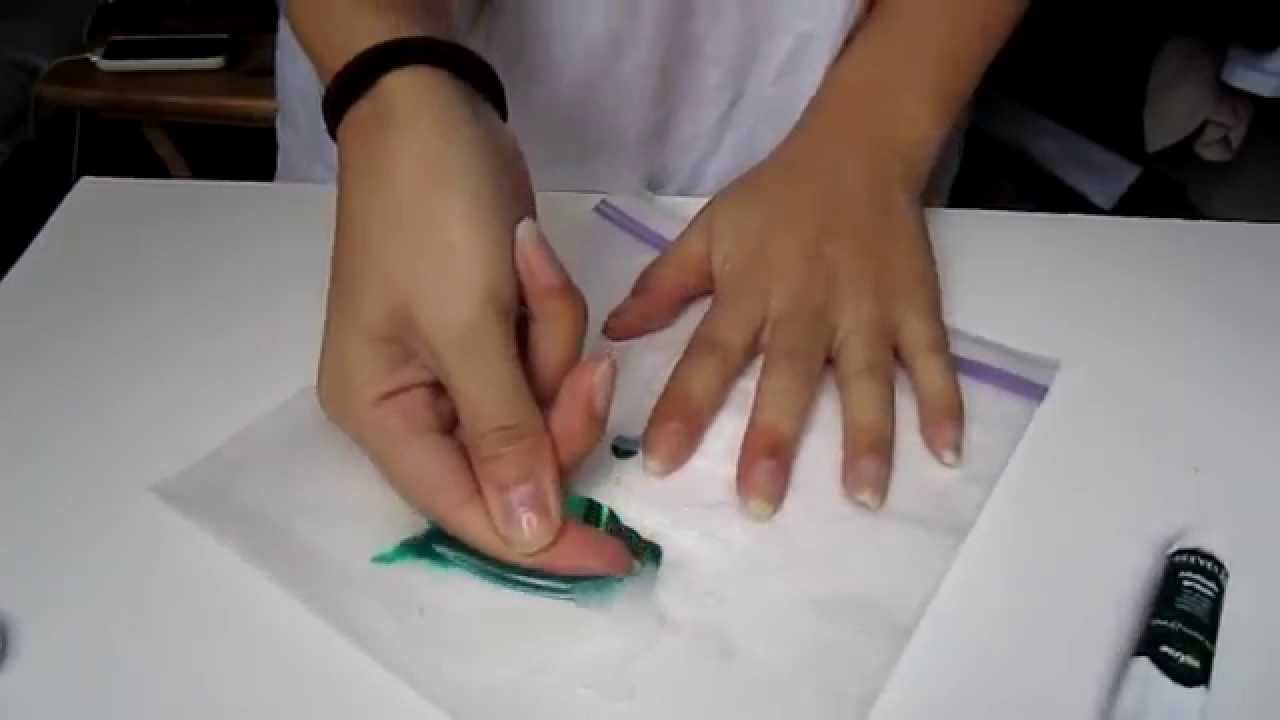 how to color silicone with acrylic paint youtube