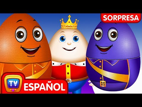 Aprende los Colores con Huevos Sorpresa de Nido   Humpty Dumpty (Colección)   ChuChu TV Sorpresa