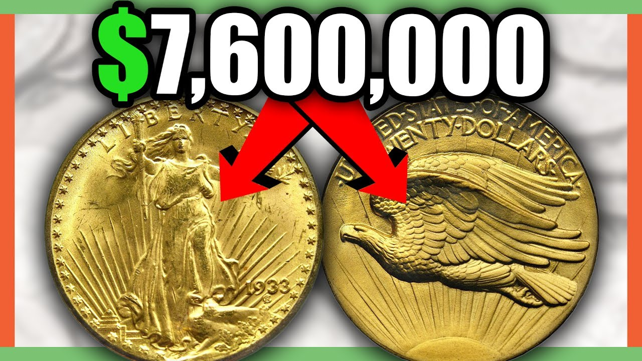 RARE COINS WORTH MILLIONS - GOLD COINS WORTH MONEY!!