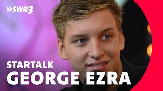 George Ezra Star-Talk | SWR3 New Pop Festival