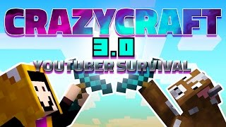 the craziest monsters want to kill my new girlfriend   crazycraft 3 0 youtuber survival 1