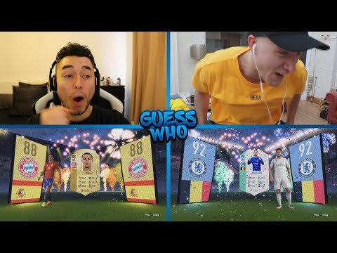WE PACKED 92 FUT BIRTAY HAZARD IN GUESS WHO FIFA 😱 GUESS WHO FIFA vs REEV 🔥