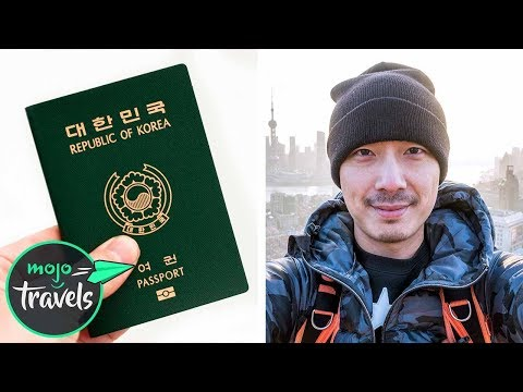 Top 10 Most Powerful Passports in the World in 2018