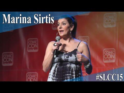 Marina Sirtis  Full PanelQ&A  Salt Lake Comic Con 2015