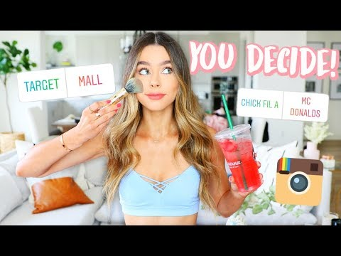 MY INSTAGRAM FOLLOWERS CONTROL MY LIFE FOR A DAY!