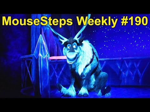 MouseSteps Weekly #190 Epcot Frozen Ever After Opening Day; Akershus Character Dining; LEGOLAND