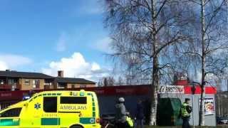 Trafikolycka på Frösön