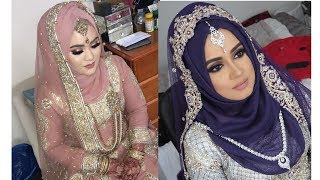 #Wedding Hijab style 2018// Bride hijab ideas