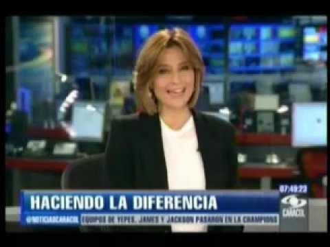 Fundación Tennis for Colombia - Caracol Noticias 211112